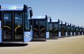 Die Zugfahrzeuge entsprechen weitestgehend den üblichen Solaris Urbino 12-Fahrzeugen, die schon seit einigen Jahren im Münchner Straßenraum bekannt sind